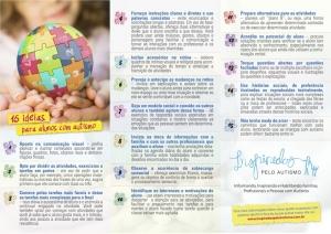 15 ideias para alunos com autismo.