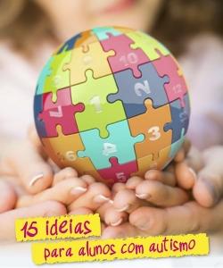 Cartaz para Projetos de Inclusão Escolar – 15 Dicas para Alunos com Autismo