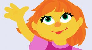 Garotinha com autismo é nova personagem de app da Vila Sésamo