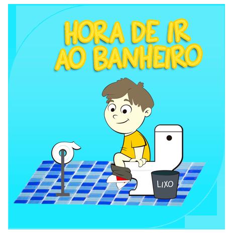 146eaac66 Baixe gratuitamente um material de apoio visual para ajudar crianças a usar  o vaso sanitário