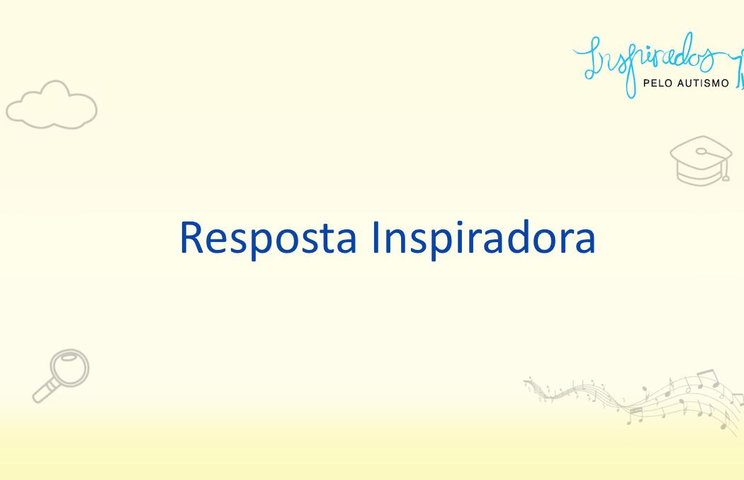 Vídeo Resposta Inspiradora