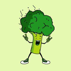 Criança com autismo comendo vegetais