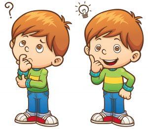 Criança com autismo e atividade para desenvolver habilidades sociais
