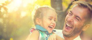 Tratamento para o autismo - pai e filha