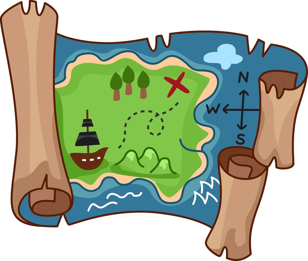 A aventura da caça ao tesouro - atividade interativa para crianças com autismo