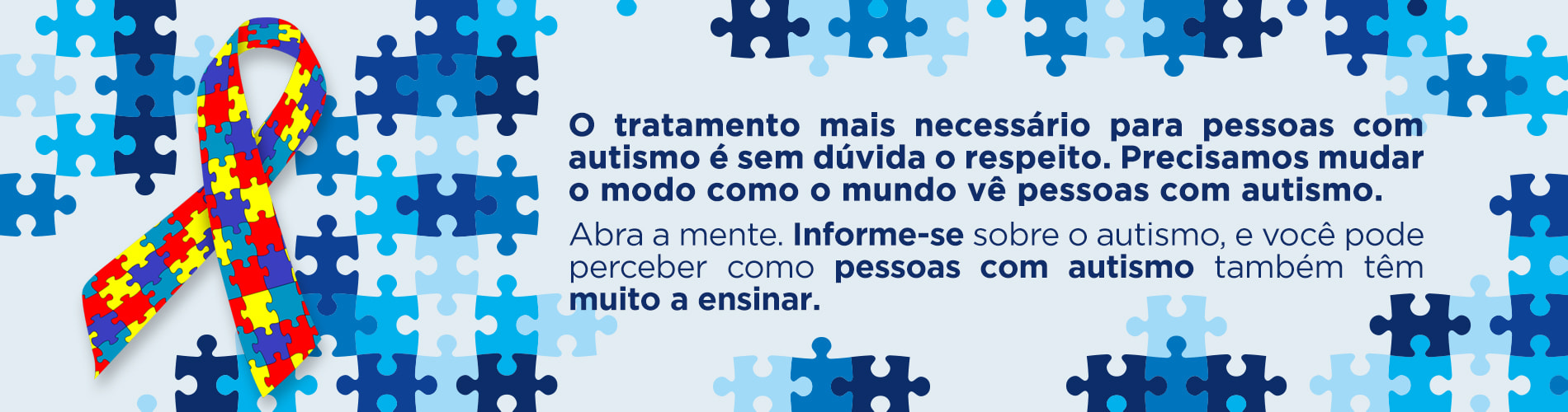 Dia Mundial de Conscientização do Autismo - Inspirados pelo Autismo