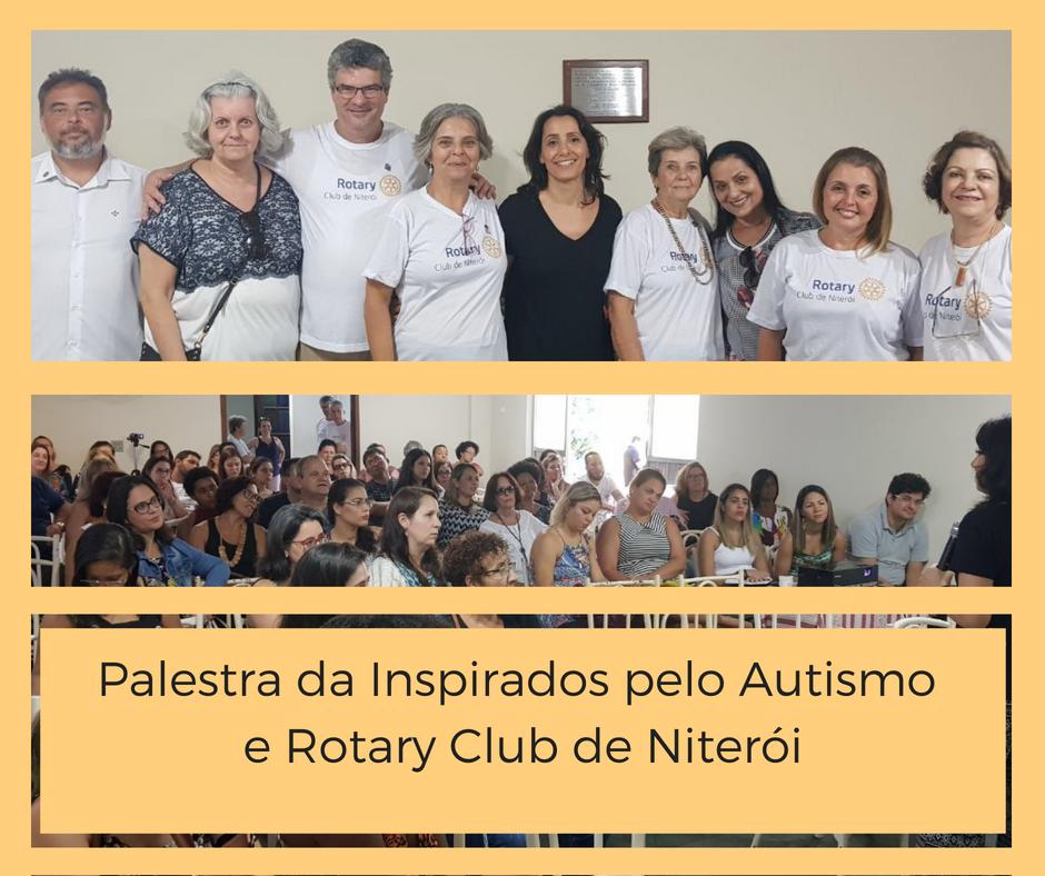 Palestra da Inspirados pelo Autismo e Rotary Club de Niterói (x)