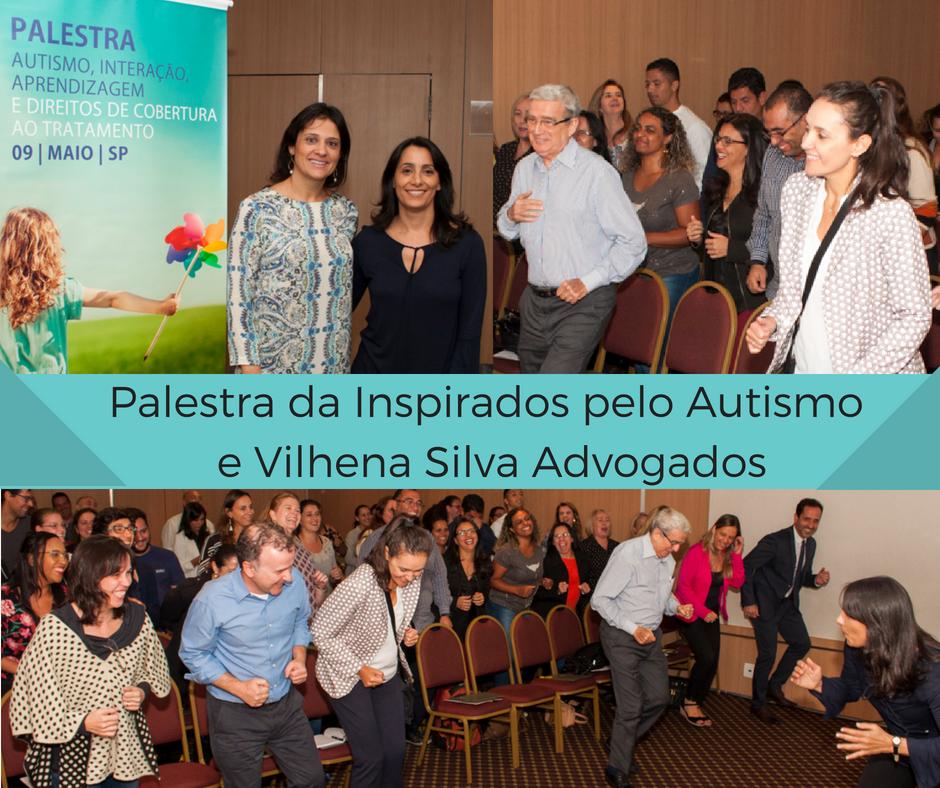Palestra da Inspirados pelo Autismo e Vilhena Silva Advogados