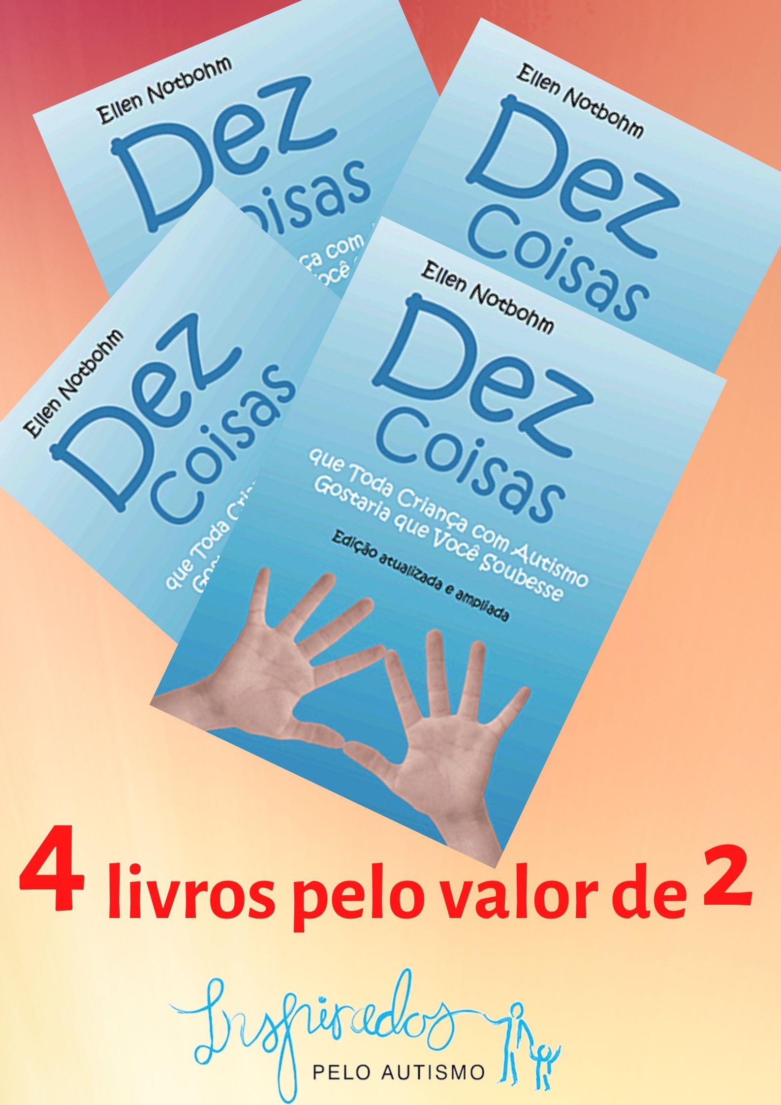 4 livros pelo valor de 2
